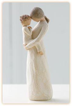 """treasuring a rare, quiet and tender moment of motherhood"" --Susan Lordi:"