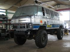 Classic Airstream on MAN KAT 4x4 Chassis camper.