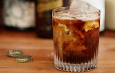 Dark Moon -  1½ cups cold-brew coffee ½ cup coffee liqueur ½ cup spiced rum 1 12-oz. bottle Coca-Cola, preferably Mexican ½ cup heavy cream Bon Appétit