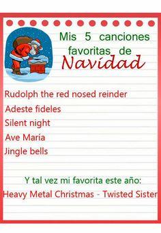 Mis 5 canciones favoritas de Navidad
