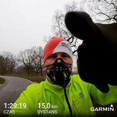 Spokojne wybieganie zaliczone a czy Ty już poćwiczyłeś/łaś? Jaka jest Twoja wymówka na niedzielę? 😎🏃👊 #respro #cinqro #smog #wiemczymoddycham #trening #wroclaw #wroclove #zdrowie #bieg #bieganie #walka #run #runner #runners #instarunner #instarun #justdoit #yesyoucan #maska #hepa #flo #nigdysieniepoddawaj #fight #training #impossibleisnothing #asics #karrimor #kalenji #sunday #15k