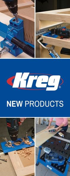 May your shop be filled with new Kreg Tools!