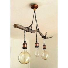 2019 Is The Year Industrial Lighting Design Will Stand Out Lighting ideas to light up your hallway d Rustic Lighting, Industrial Lighting, Lighting Design, Copper Lighting, Lighting Ideas, Patio Lighting, Industrial Office, Bedroom Lighting, Modern Industrial
