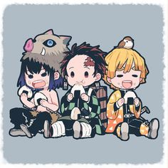 Its a fact that anything chibi is immediately a top tier drawing.ESPECIALLY if its demon slayer. Anime Chibi, Naruto Chibi, Chibi Cat, Fanarts Anime, Cute Chibi, Anime Characters, Manga Anime, Chibi Girl, Kawaii Chibi