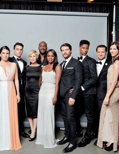 The cast of How To Get Away With Murder at the 46th Annual NAACP Image Awards.