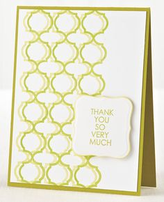 So Very Much Card by @Kimberly Crawford