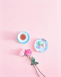 Love this photo styling!Pink delights  by creativekipi