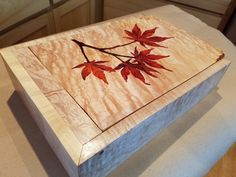Marquetry by Jeff Heon
