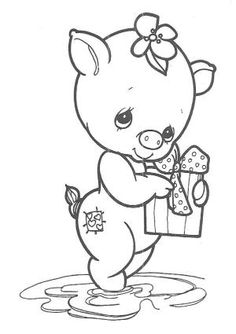 Precious Moments Coloring Pages - Bing Images by joseyhappy