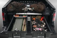 Decked truck bed storage system I think this is the direction OTO is looking at.