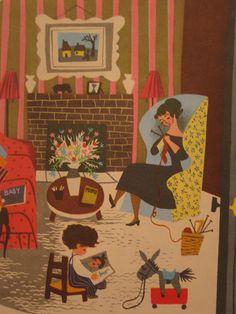 inside mary blair's baby's house