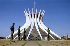 catedral brasilia niemeyer - Buscar con Google