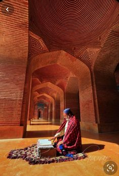 Islamic Architecture, Beautiful Architecture, Shah Jahan Mosque, Pakistani Culture, Village Photos, Islamic Pictures, World Cultures, Islamic Art, Travel Inspiration