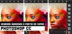 Generar imágenes a partir de capas en Photoshop CC
