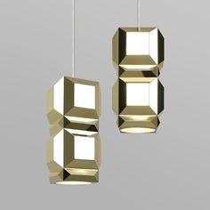 One Light Only by Lee Broom  inspired by Art Deco jewellery and 1970s fashion photography