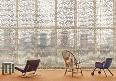 Hella Jongerius e Rem Koolhaas all'ONU - Living
