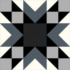 The Beehive Quilts – Double Star Block (Christa Quilts) Barn Quilt Designs, Barn Quilt Patterns, Pattern Blocks, Quilting Designs, Quilting Patterns, Modern Quilting, Quilting Projects, Quilt Blocks Easy, Star Blocks