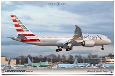 American Airlines first 787-8 Dreamliner. @americanair