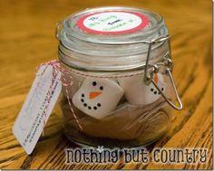 Mason jar gifts for Christmas or anytime