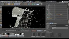 cinema 4d speed art - Z cloth explosion all render on Vimeo