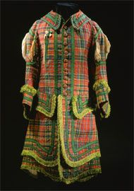 Tartan uniform of the Royal Company of Archers, dating from the first half of the 18th century.