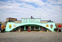 Tourist Treats 5 x 7 color photograph of an ice cream