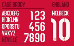 NIKE world cup fonts - designboom | architecture & design magazine