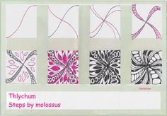Thlychum-Tangle Pattern | by molossus, who says Life Imitates Doodles