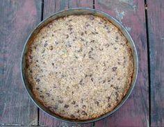 hazelnut oat chocolate cake