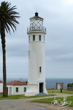 Point Vicente Lighthouse in service since April 14, 1926 Rancho Palos Verdes, CA