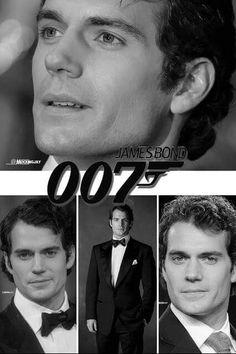 Henry cavill for James Bond