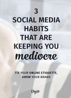 If you want to be mediocre on social media, keeping doing these 3 things to your fans!