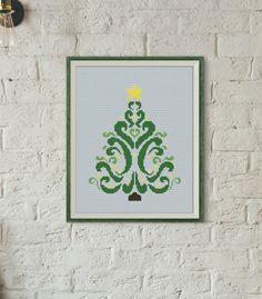 Cross stitch pattern by Avrora CS  #crossstitch #xstitch #xstitching #crossstitchpattern #xstitchpattern #christmas