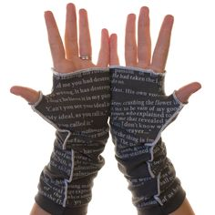The Picture of Dorian Gray Writing Gloves