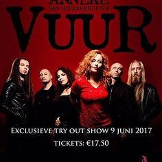 Don't miss the first-ever VUUR show!! XxX