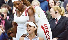 Serena Williams is the latest upset victim at Wimbledon, losing in three sets to Alizé Cornet:  #Wimbledon2014 #wimbledon #tennis #aetc   http://www.theguardian.com/sport/2014/jun/28/serena-williams-wimbledon-exit-alize-cornet