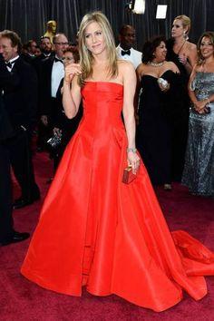 Jennifer Aniston no tapete vermelho