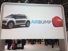 """Smart ide fra Citroën til at undgå """"storby-buler"""". Men giver selvfølgelig et lidt specielt udseende."""