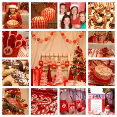 Oh my heart this candy cane holiday theme party is fabulous! michelle paige: A Candy Cane Themed Party