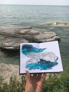 Sketchbook Season: Kicking it off by Taking A Moment to Look Back Notebook Art, Art Diary, Landscape Paintings, Landscapes, Sketchbook Inspiration, Art Inspo, Abstract Art, Illustration Art, Artsy