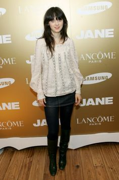 Zooey Deschanel at Lacome Event