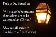 The Rule of St. Benedict.  If all the world were practicing this rule . . .