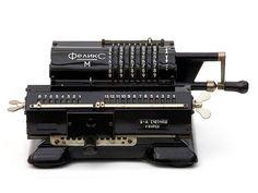 1920 Odhner Calculator  Willgodt T. Odhner  Sweden