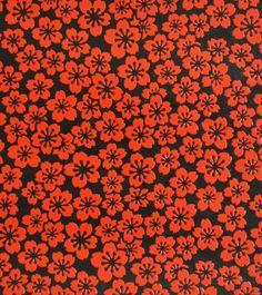 papier japonais - washi - yuzen - chiyogami - fleur écarlate - kamakurabori - rouge - papier laqué