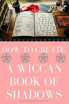 How To Create a Wiccan Book of Shadows (Complete Step-by-Step Guide)You can find Wiccan art and more on our website.How To Create a Wiccan Book of Shadows (C. Wiccan Books, Wiccan Spell Book, Wiccan Witch, Wiccan Spells, Magick, Wiccan Art, Magic Spells, Spell Books, Wicca Wand