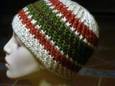 Reversible strands hat free on ravelry- Did in i Love this Yarn - Bears colors.  Guage was too small- added increase rows- very stretchy- inc to about 7 in