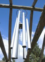 Making Wind Chimes: Very specific detail about achieving proper sounds with tubes.