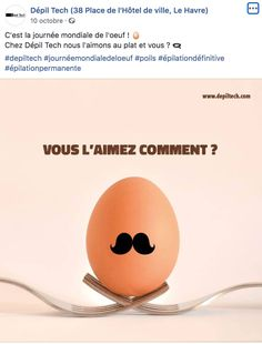 Journée mondiale de l'oeuf Depiltech Le Havre, Food, Permanent Hair Removal, October 10, Essen, Meals, Yemek, Eten