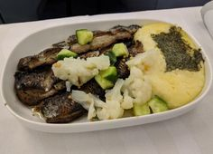 How does this look like? Inviting? In any case it was rather delicious. Finnair A330-300 Business Class HEL-JFK