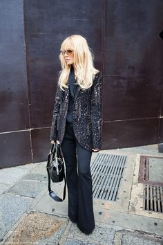 the Fashion Spot - View Single Post - Rachel Zoe - (Please Read Note in Post before posting. Rachel Zoe, Work Fashion, Fashion Outfits, Style Fashion, Suit Up, New Fashion Trends, Everyday Fashion, Street Styles, Ideias Fashion